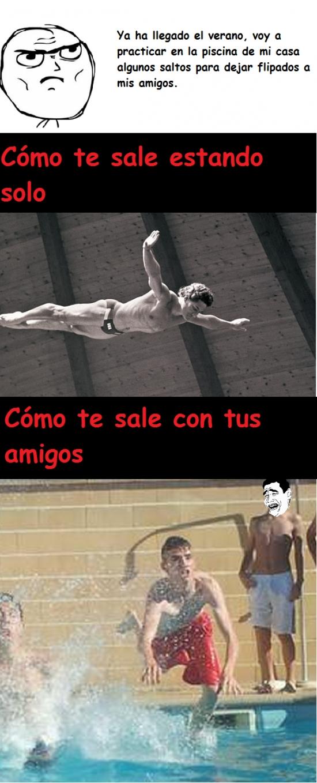 determined,fail,piscina,saltar,saltos,trampolin,verano,yaoming