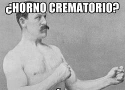 Enlace a ¿Horno crematorio?