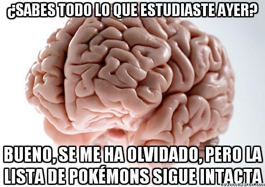 Cerebro_troll - ¿Recuerdas lo que estudiaste ayer?