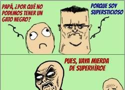 Enlace a Superhéroes con extraños superpoderes
