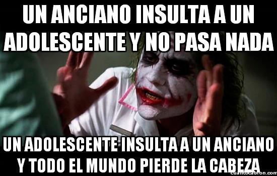 Joker - Insultos intergeneracionales