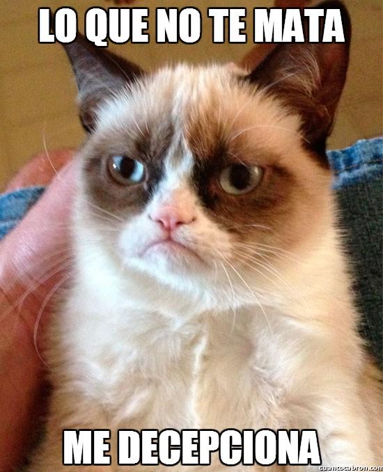 Grumpy_cat - Lo que no te mata...