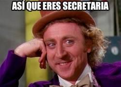 Enlace a Así que eres secretaria