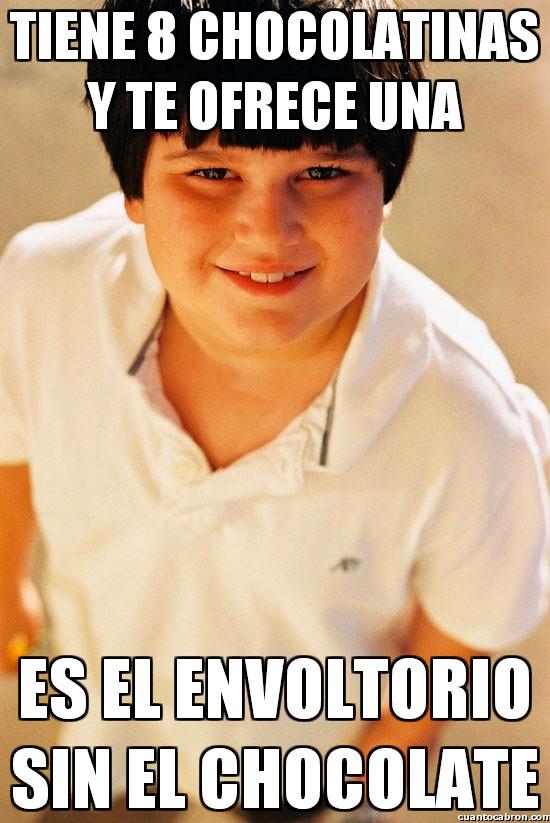 Nino_repelente - Nunca te fíes de sus ofrecimientos