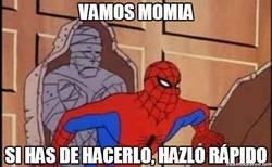 Enlace a Spiderman tiene unos gustos un poco extraños