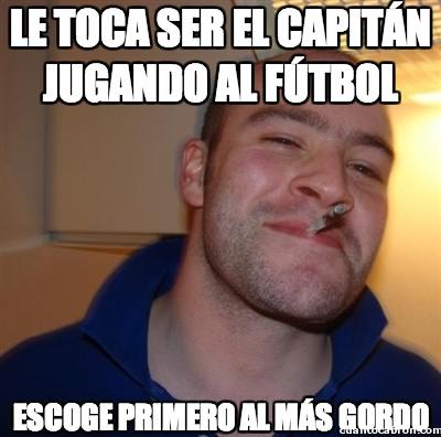 capitán,escoger,fútbol,Gordo