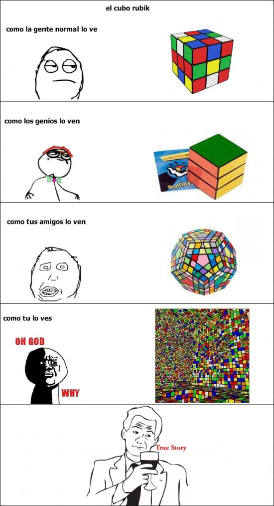 Mix - El cubo de Rubik según quién seas