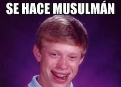 Enlace a No eligió el mejor momento para pasarse al Islam