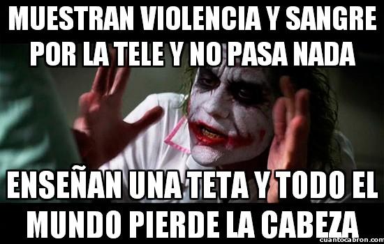 armas,batman,eeuu,enseñar,joker,logica,mostrar,pechotes,puritanos,sangre,violencia