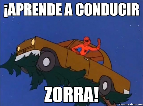 Spiderman60s - ¡Aprende a conducir!