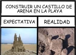 Enlace a Castillos en la playa