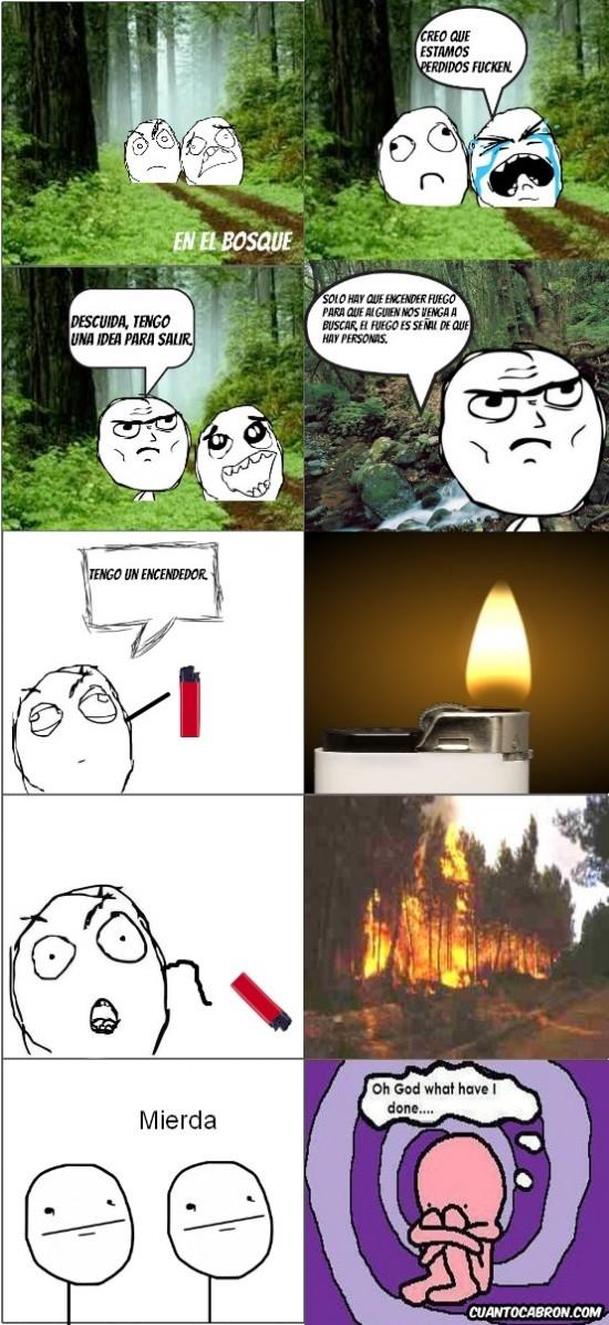 Oh_god_what_have_i_done - Perderte en el bosque y acabar liándola parda