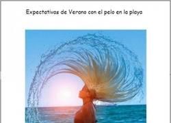 Enlace a Expectativa pelo en playa