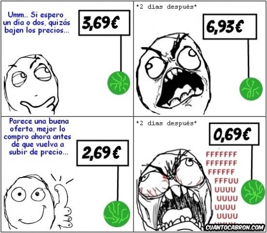 Ffffuuuuuuuuuu - La locura de los precios
