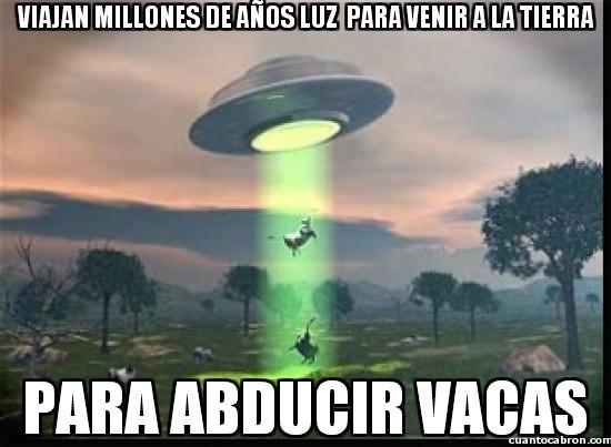 Meme_otros - El extraño comportamiento de los aliens