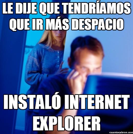 despacio,instalar,internet,internet explorer,ordenador,pareja feliz
