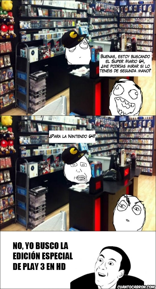No_me_digas - Dependientes de tiendas de videojuegos que van de gamers, pero sólo son gilipollas