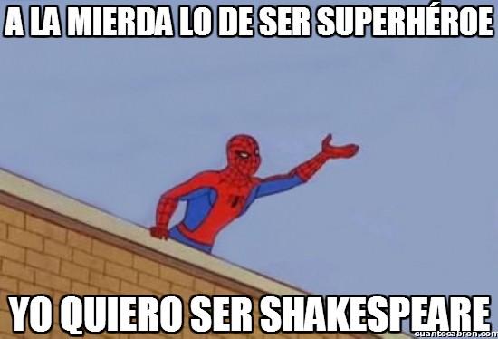 Spiderman60s - A la mierda lo de ser superhéroe