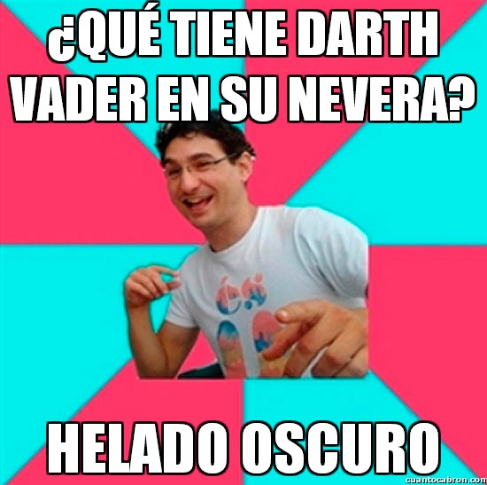 darth vader,el lado oscuro,helado,nevera,oscuro,star wars