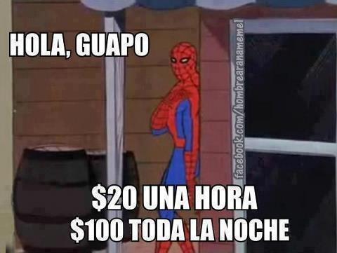 Spiderman60s - Estúpido y sensual Spiderman