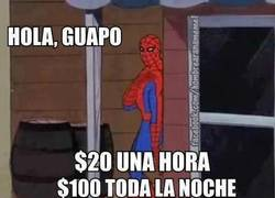 Enlace a Estúpido y sensual Spiderman
