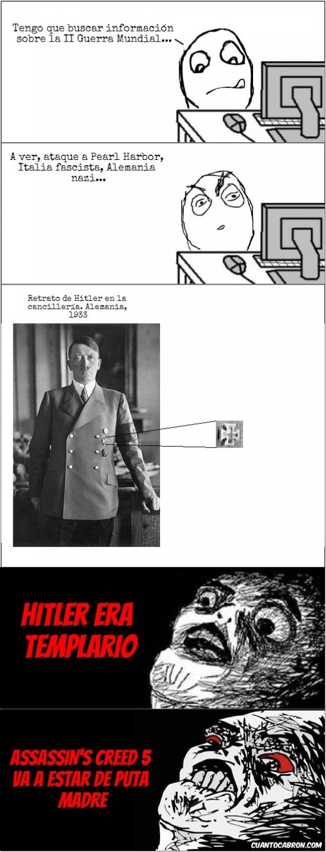 Inglip - Hitler era templario