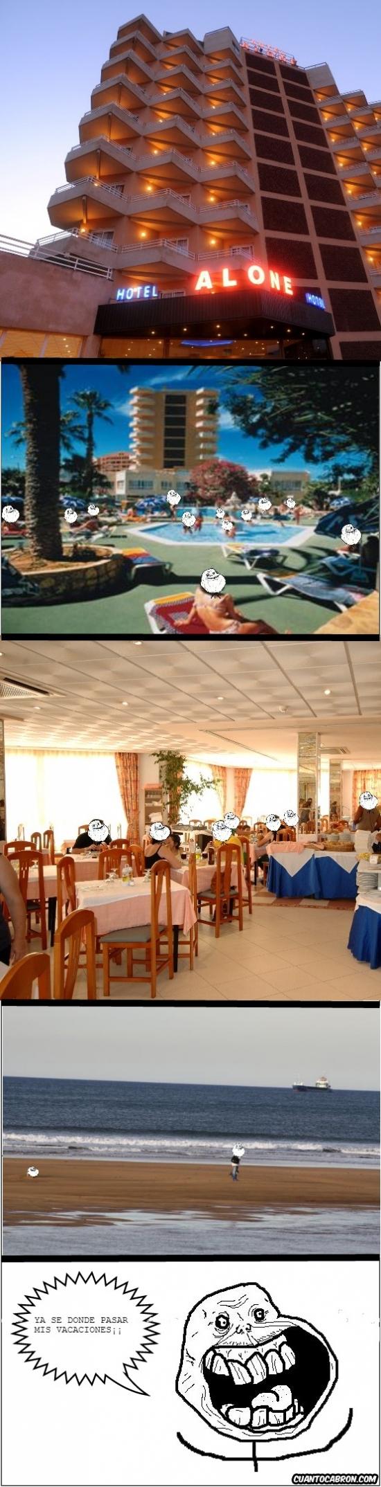 Forever_alone - El hotel perfecto para un Alone
