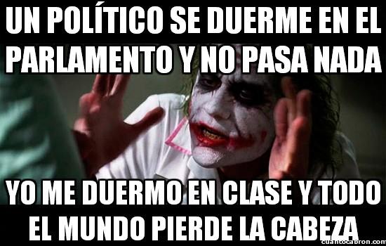 Joker - Hombre, es que el grado de responsabilidad no es el mismo