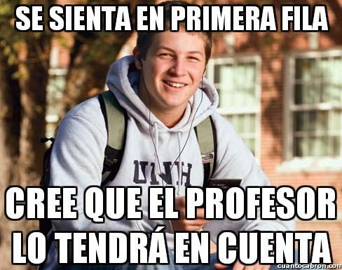 Universitario_primer_curso - Los de la primera fila