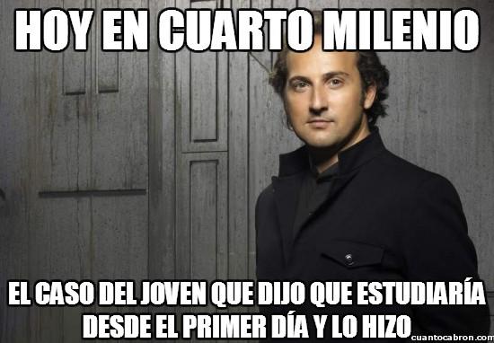 caso,cuarto milenio,estudiante,Iker,Jiménez