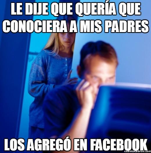 Marido_internet - Le dije que quería que conociera a mis padres