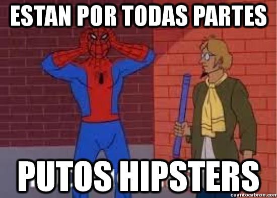 Spiderman60s - ¡Estan por todas partes!