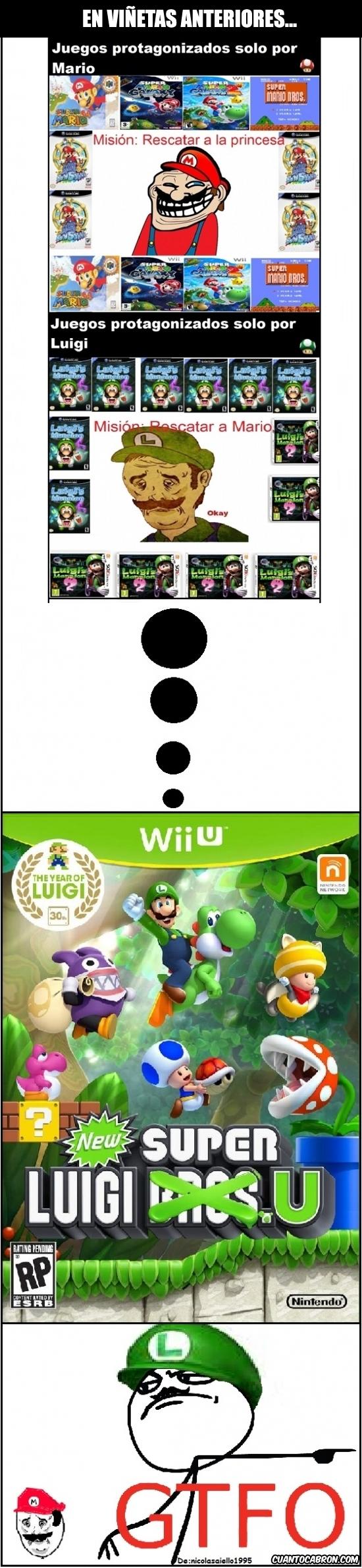 Otros - ¡Por fin un reconocimiento para Luigi!
