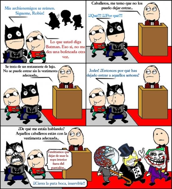 Mix - Hay que reconocer que los enemigos de Batman saben vestir bien
