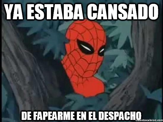 Spiderman60s - Ya estaba cansado