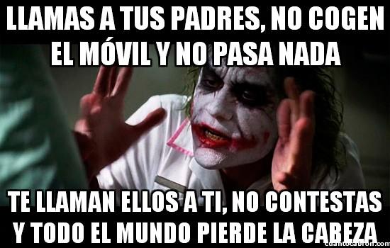 Joker - La contradicción del móvil paterno