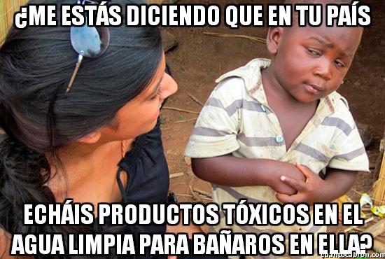 Esceptico_nino_negro - Sobre el cloro y esos productos