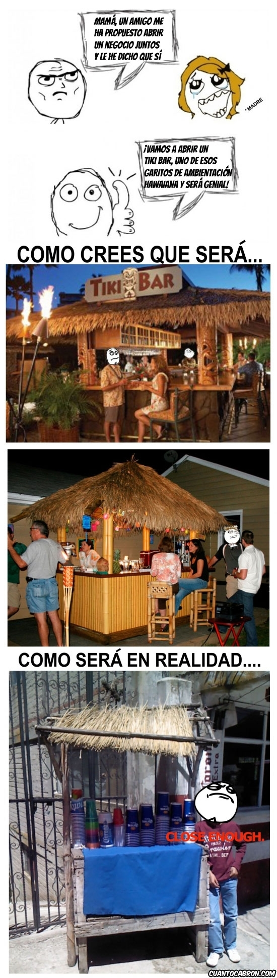 Fuck_yea - ¡Montemos un Tiki Bar!