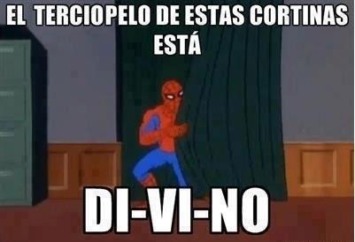 Spiderman60s - Cortinas divinas