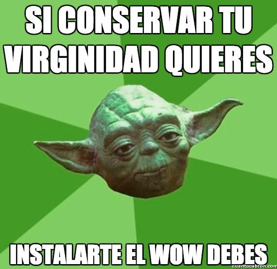 Consejos_yoda_da - Si conservar tu virginidad quieres