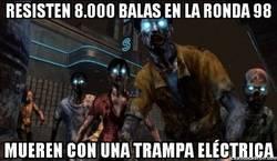 Enlace a Estúpidos y resistentes zombies del Call of Duty