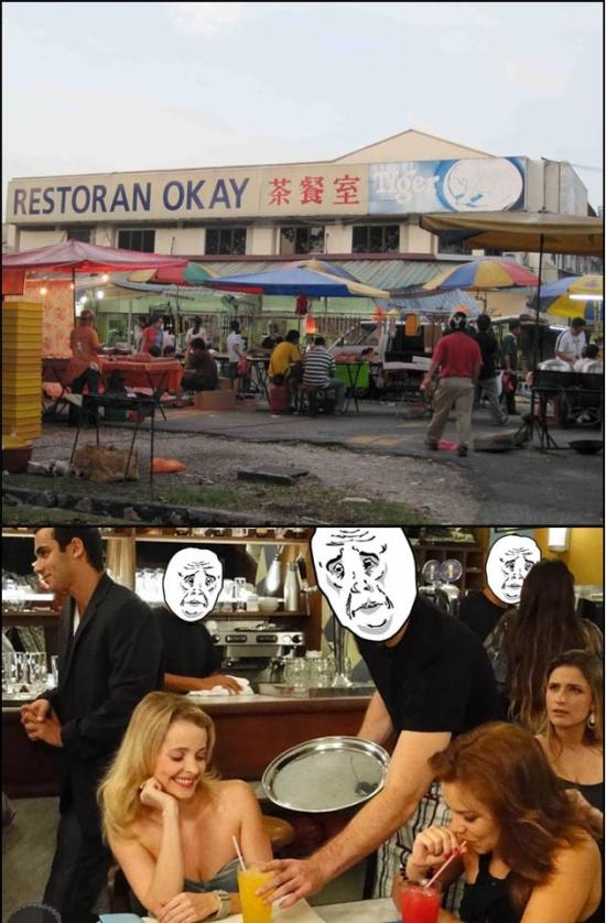 Okay - El restaurante donde tu pedido es una orden