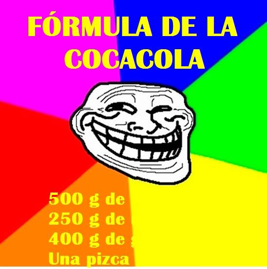 Meme_trollface - Fórmula de la CocaCola