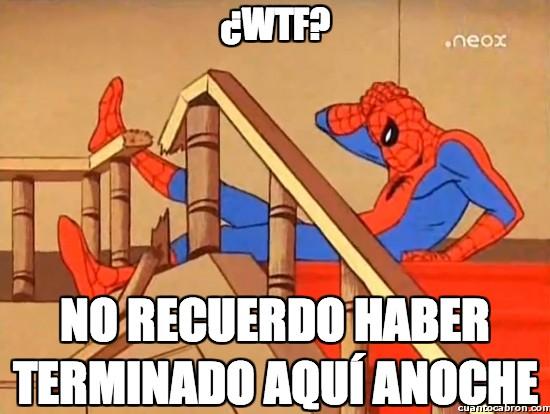 Spiderman60s - ¿WTF?