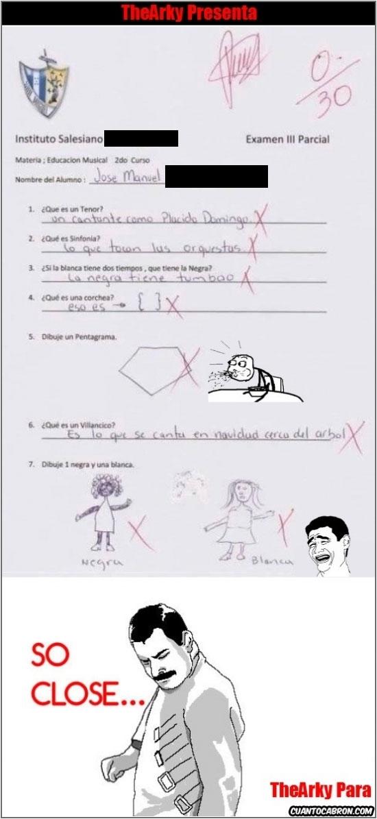 Freddie_mercury - Pues yo no veo los fallos en este examen...