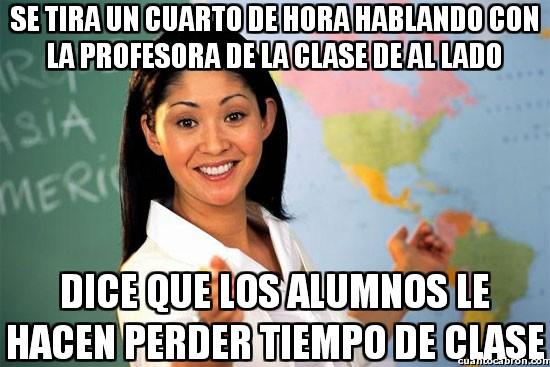 Profesora_cabrona - La culpa siempre es para los mismos
