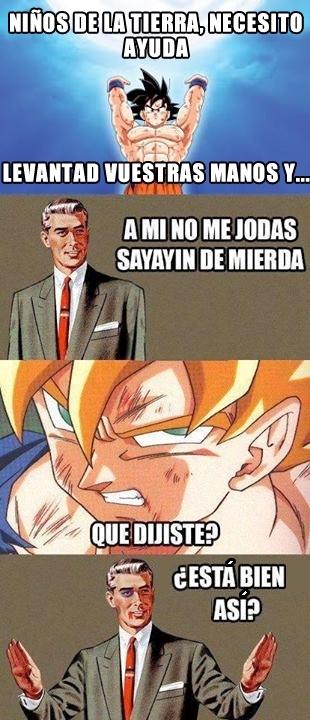 Otros - No vaciles a Goku