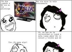 Enlace a Desde ese punto de vista el Zelda: Majora's Mask sí es triste