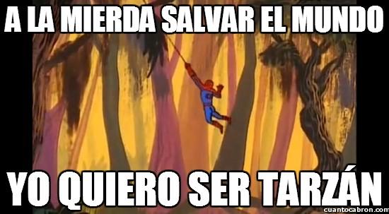Spiderman60s - A la mierda salvar el mundo