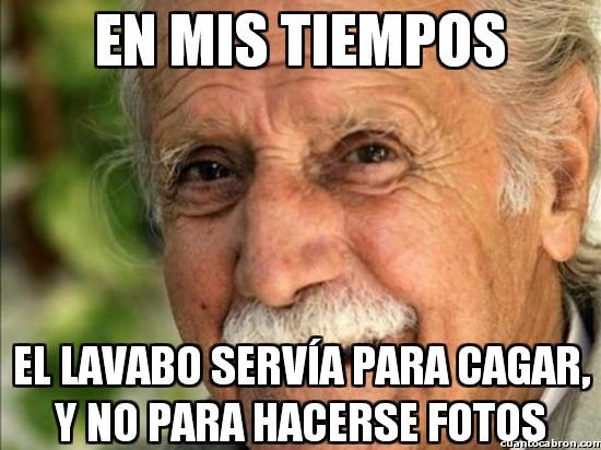 Meme_otros - En mis tiempos...